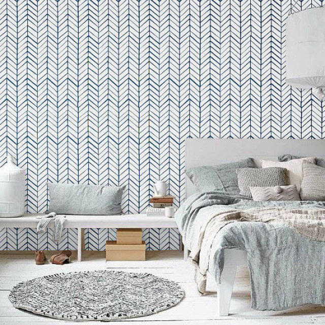 pinterest behang slaapkamer ~ lactate for ., Deco ideeën
