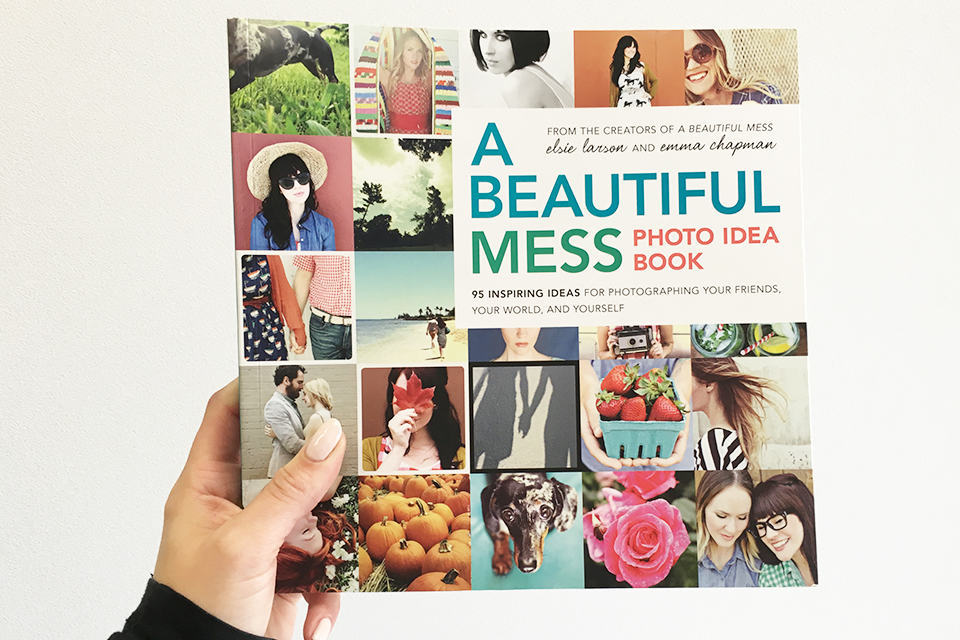 PERFECT FIND: A beautiful mess photo idea book