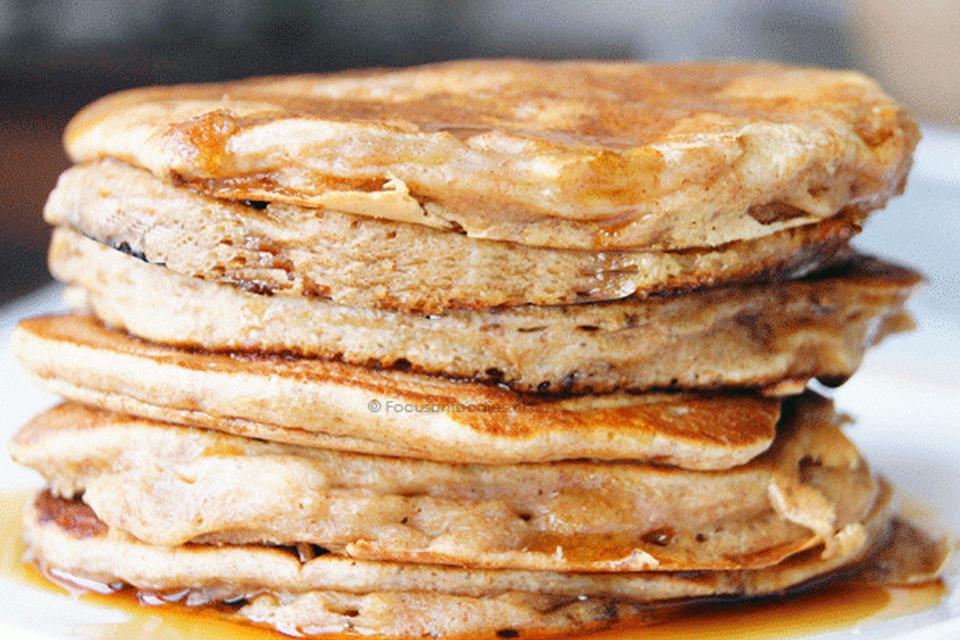 Suikervrije American pancakes