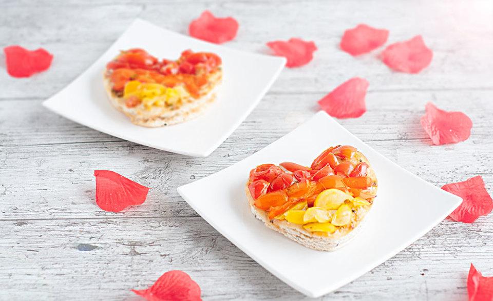 Recept: Pizza hartje van Naanbrood