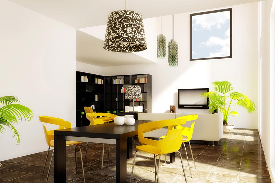 De kleur geel in je interieur voor een unieke for Interieur geel