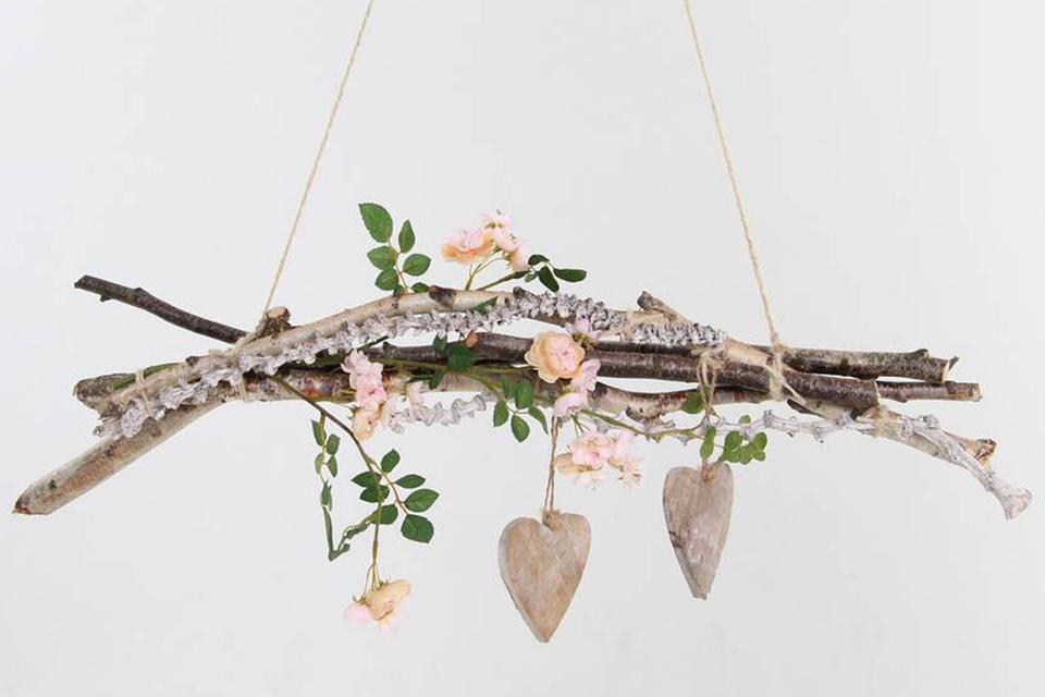 Diy hangende tak maken - Versieren van een muur in ...