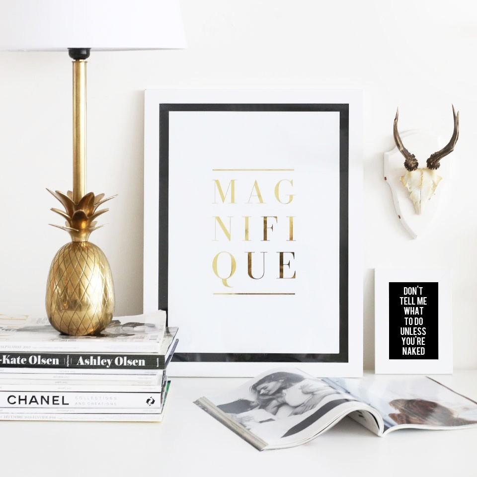 Dé Zara gouden ananas lamp (alternatief)