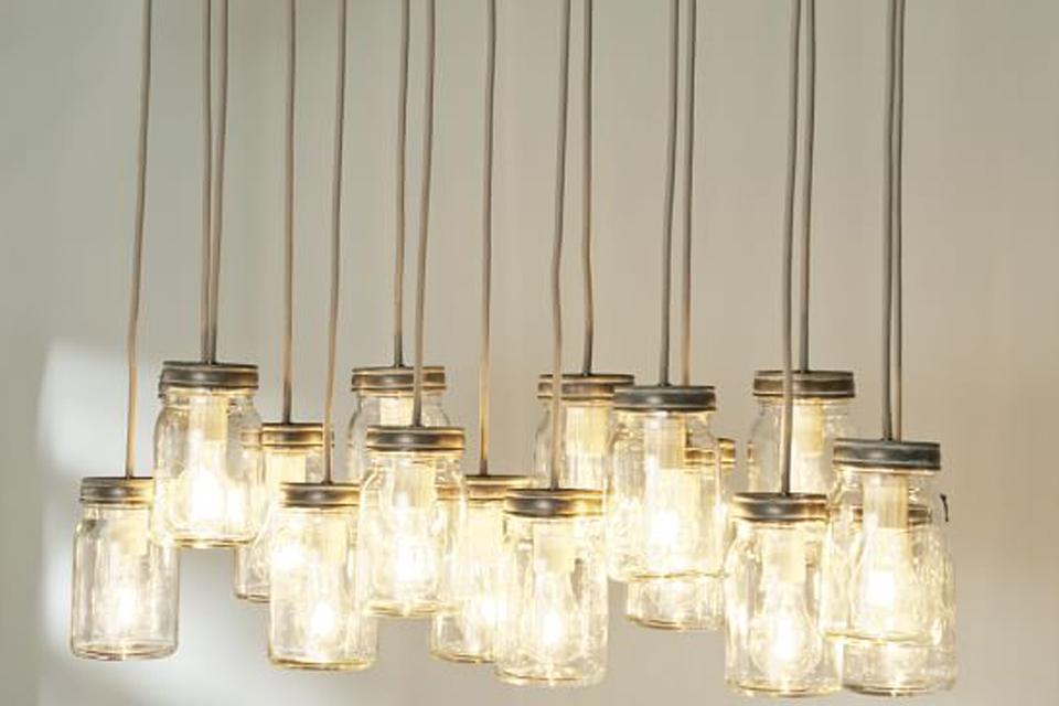 Een leuk idee om zelf een lamp te maken!