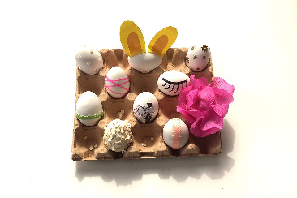 Paaseieren versieren - Creatief met Pasen