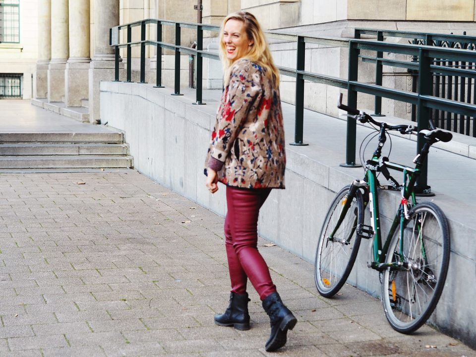 Outfit of the day | Stoer en toch warm rood