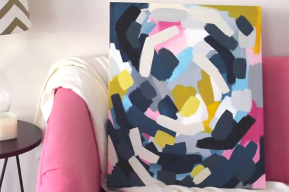 Dit schilderij kun je zelf maken!