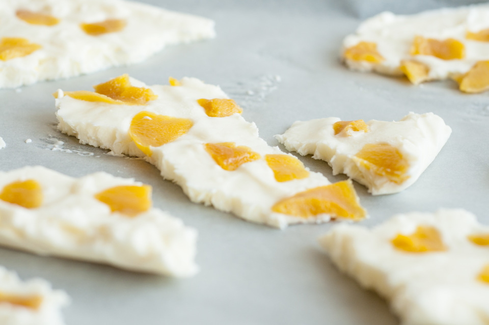 Recept voor: Yoghurt Mango Brokken